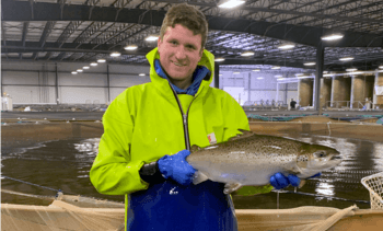 AquaBounty inicia cosecha comercial de salmón Atlántico en EE.UU.