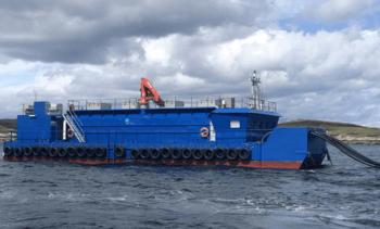 SSF's bigger barge ups efficiency at Eriboll