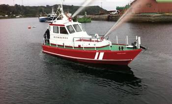 Puerto Montt tendrá primera embarcación para combatir incendios marítimos