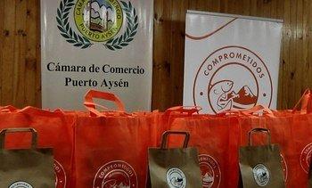 Salmonicultores y comercio de Aysén se unen para apoyar a las Pymes