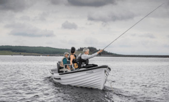 Clubs reel in salmon farmer's help for disabled anglers