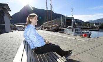 Ville eksportere laks med båt, men blei slått konkurs. No ankar dei