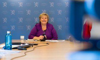 Statsministeren hilste vinnerne