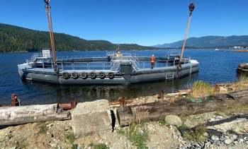Salmonicultora probará primer sistema de contención semicerrado en Canadá