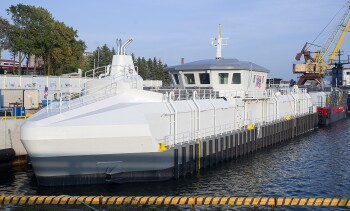 AKVA builds 'toughest-ever' barge for exposed site