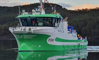 Sletta Verft har overlevert hybridfartøy til FSV Group
