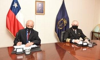 IFOP y Directemar firman convenio de cooperación científico-técnico