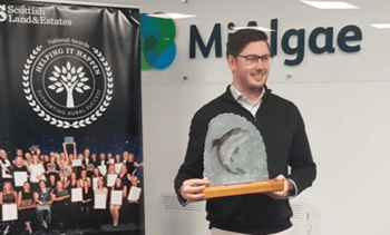 Green award for salmon feed ingredient pioneer MiAlgae