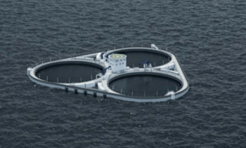 Second chance for concrete floating fish farm concept