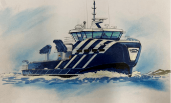 Håløy Havservice kontraherer hybrid servicefartøy