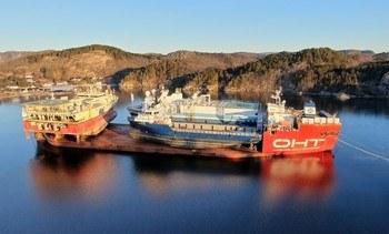 25 000 tonn skip fraktes på skip fra Farsund til Tyrkia