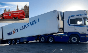 SSPO backs lorry protesters' call to cut Brexit red tape