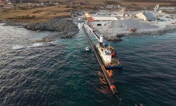 Seawater 'artery' installed at 10,000t on-land salmon farm