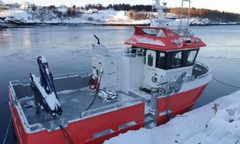 Second electric workboat for Nova Sea