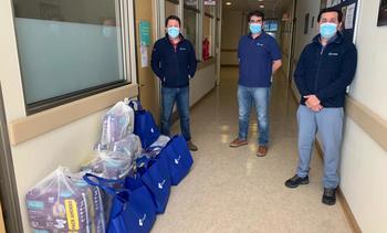 Omnifish realiza donación a pacientes del Hospital Puerto Montt