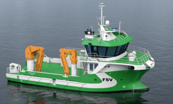 Service boat operator orders third hybrid vessel