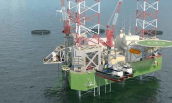 Fresh chance for oil-rig salmon farm concept