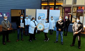 Aquagestión es el primer laboratorio regional en obtener sello covid de la ACHS
