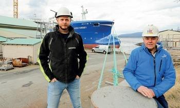 Utfører stor jobb på DESS-brønnbåt