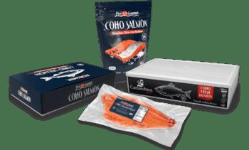 Presentan nueva línea de salmón coho de Chile en EE.UU.