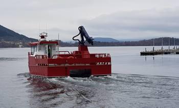 Ny arbeidsbåt levert til Lingalaks