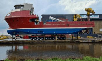 Fish farming vessel set to make a splash on the web