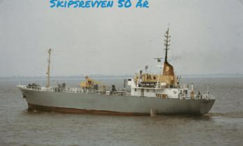 M/S «Bukkeskjell» - en sjøens lastebil til Fred. Olsen Lines