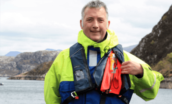 Salmon farmer introduces 'industry-first' person overboard alert
