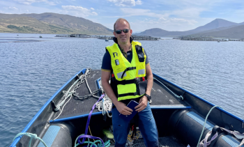 Mowi's new production director settling into Scotland