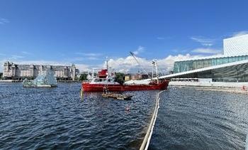 Skipet som lagde Operastranden