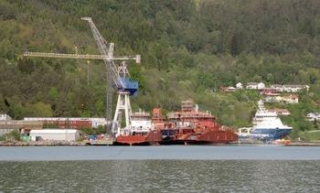 Store forsinkelser for fire fartøy ved Havyard - derav to Frøy-brønnbåter