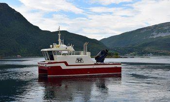 Oppdrettskatamaran overlevert til Eidsfjord Sjøfarm