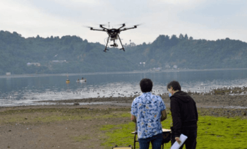 The drone super-camera that will identify HABs