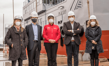 Productor de salmón chileno inaugura nuevo pontón de tecnología avanzada
