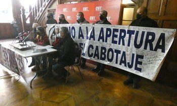 CUT manifiesta total rechazo a apertura de cabotaje marítimo a extranjeros