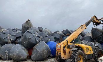 Nueva alianza inicia con reutilización de 50 toneladas de residuos salmonicultores