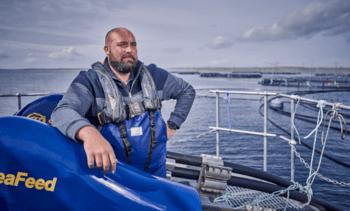 Cooke Scotland unveils 10th organic salmon farm