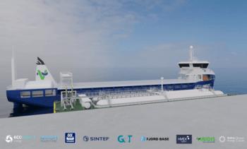 SINTEF skal forske på ammoniakk som grønt drivstoff til skipsfarten