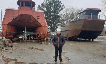 Emprendedor levanta nuevo astillero para incrementar competencia naviera