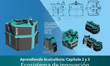 Desarrollan innovador pontón para la salmonicultura oceánica en Chile