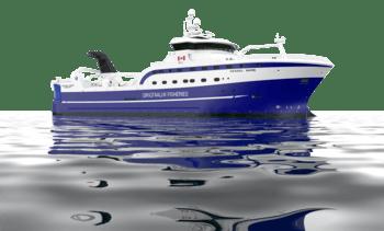 Kanadisk fiskeriselskap velger Skipsteknisk design