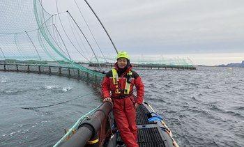Ny fiskehelsebiolog i HaVet - Ønsket førstehåndserfaring ute på merdkanten