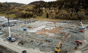 Construyen uno de los centros RAS para salmón más modernos del mundo