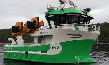 Fartøy to av fem overlevert til FSV Rederi