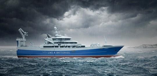 Bølgene skal lage strøm om bord på «Libas»