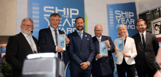 Plug-in hybrid ferry named Ship of the Year