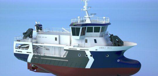 Nytt servicefartøy fra Amar Shipping