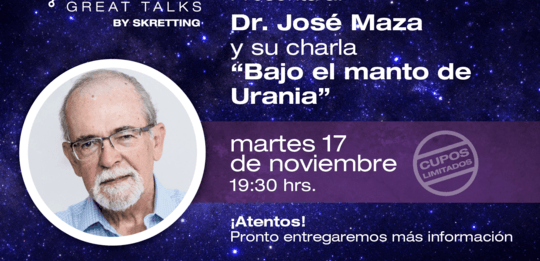 José Maza cerrará las jornadas Fish Great Talks de Skretting