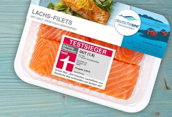 Fresh farmed salmon tops taste test