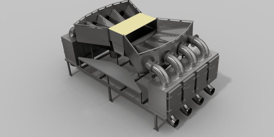 SFI system er en ny type avluser med spyler som er produsert av gründerne i Sea Farm Innovations på Færøyene. Foto: SFI.